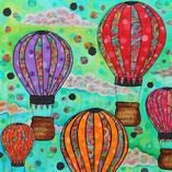 Up & Away - Original Art by Sherry Williamson